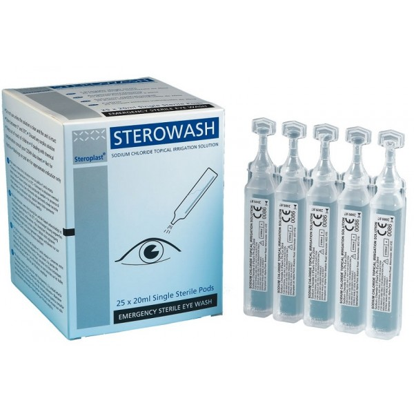 Výplach očí 5ks STEROWASH - 5x20 ml