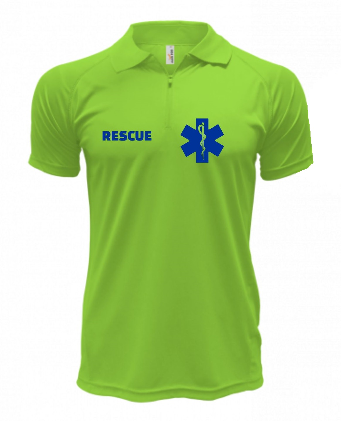 Polo RESCUE - Quick Dry - Safety Green