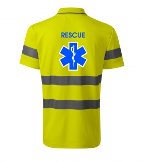 Polo  - yellow reflex - RESCUE +3M