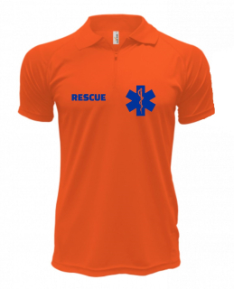 Polo RESCUE - Quick Dry - Safety Orange