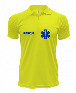Polo RESCUE - Quick Dry - Safety Yellow